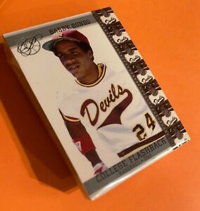 50 BARRY BONDS Pittsburgh Pirates Arizona State Sun Devils College Flashback LOT