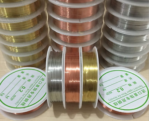 1-Roll-Brass-Silver-Gold-Soft-Copper-Wire-line-for-DIY-Jewelry-Making-0-2-1mm
