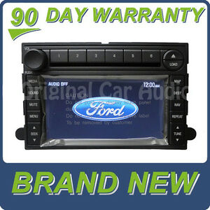 NEW Ford Navigation Touch Screen GPS Radio CD Changer Player Mustang | eBay