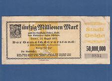OELDE 50 Millionen Mark 1923 IV / F