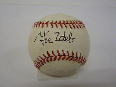 Balls Painstaking Joe Zdeb Kansas City Royals Signed Official American League Baseball Cas Coa