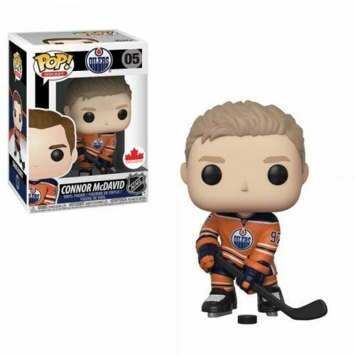 Funko POP Connor McDavid Orange Jersey Canada Exclusive Edmonton Oilers NHL