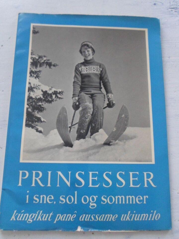 Bøger og blade, prinsesser i sne sol og sommer