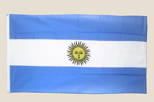 3X5 Argentine Drapeau Amérique du Sud Argentine Neuf F027