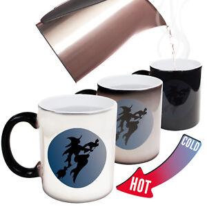 Funny Mugs - Moon Witch - Joke birthday gift Pun MAGIC NOVELTY MUG