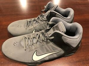 f8fa6598203 Details about NIKE Air Visi Pro 4 Men Athletic Basketball Shoes Size 10  Black Grey