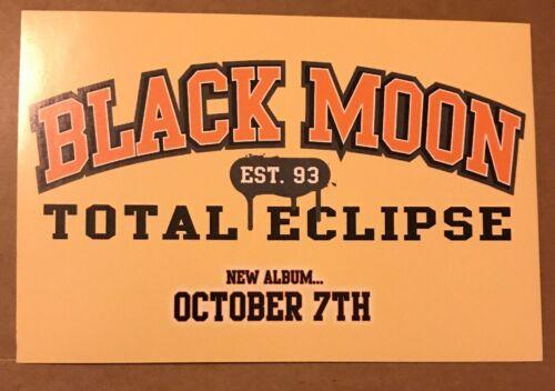 "RARE Black Moon Total Eclipse Promo Sticker Size 4""x6"" Buckshot 5FT Evil Dee"