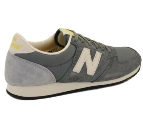 New Balance Woman 420 Grey Suede Vintage  Sneakers