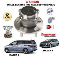 Para Mazda 3 5 1.4 1.6 Dt 2.0 2.2 Dt 2.3 Mps Turbo 2003 -- > Rueda Trasera teniendo Hub