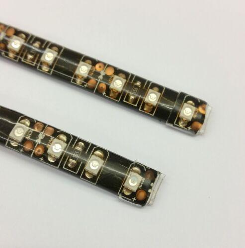 GREEN LED FOOTWELL//INTERIOR STRIP LIGHTING DOUBLE DENSITY 4 STRIP MINI KIT