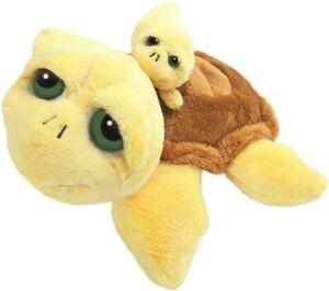 Suki-Schildkroete-Pebbles-mit-Baby-gelb-Groesse-M-ca-25cm