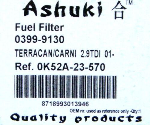 III  2,9 CRDI   Dieselfilter NEU Kraftstofffilter KIA CARNIVAL  II