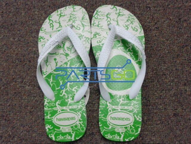 d0e8fa31c98 Havaianas Rio 2016 Limited Edition Flip Flops Size USA 3 4Y New! Original!
