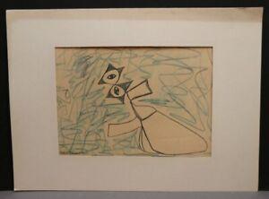 Peter M. BAUER 1946-2020 - Art Brut Naive Kunst - Knieender Engel PBG30/4