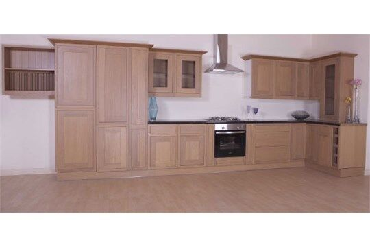 mfi Kelmscott Howdens Haworth SOLID OAK KITCHEN 800mm FACE FRAME RJD4480