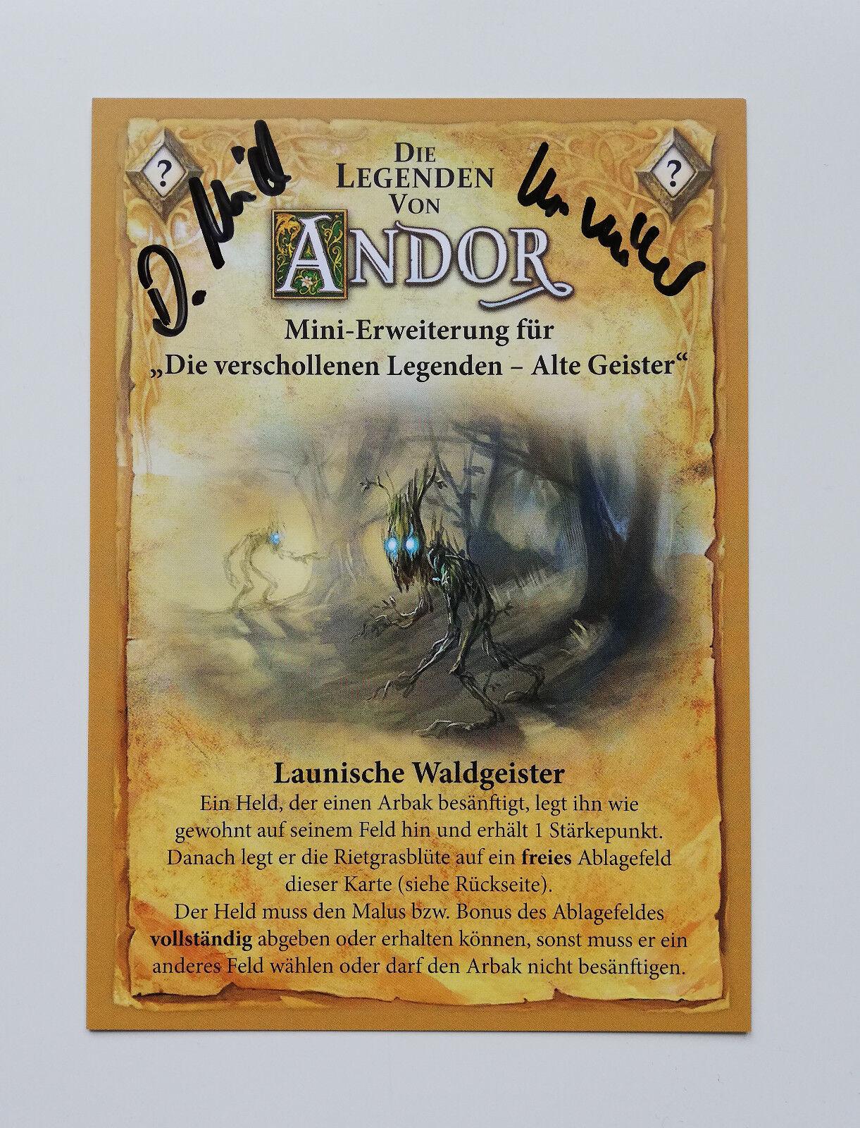 ●•• Die Legenden von Andor ••● PROMO ✩ Launische Waldgeister ✩ NEU  ESSEN 2018