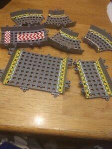 K'NEX  Circuit Start Line Building Set Mario Kart Wii Nintendo Gray Track Only