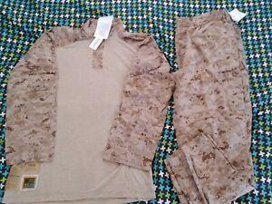 NWT-USMC-Desert-Digital-Frog-Shirt-and-Frog-Pants-COMBO-Size-XTRA-LARGE-LONG