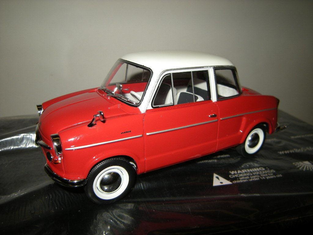 gran descuento 1 18 bos NSU Prinz III 1961 rojo-blancoo rojo-blancoo rojo-blancoo Limited Edition 1 of 1000 PCs. en OVP  nuevo estilo