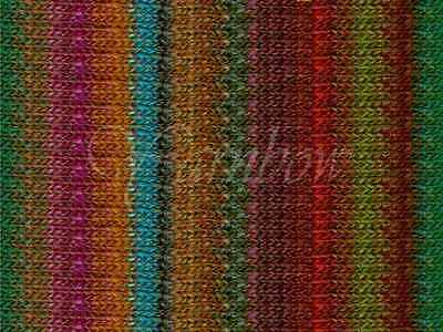 NORO ::Silk Garden #381:: silk mohair wool yarn Rust-Brick-Nut-Pink-Greens-Aqua