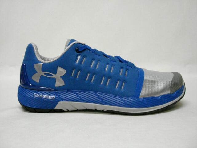 online retailer c05a8 96a0b Under Armour Size 10.5 UA Charged Core Blue Training SNEAKERS Mens Shoes