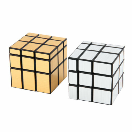 New 3 x 3 x 3 Magic Cube Puzzle Ruler Mirror Intelligence Game Kids Toy EL⊿