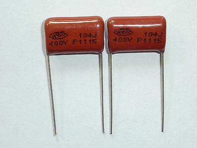 20pcs 250V 104 K 0.1uf 100nf 100000pf P7.5 CL21 CBB metal film capacitor