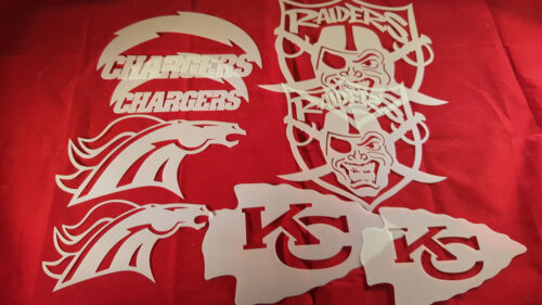 AIRBRUSH PRO FOOTBALL AMERICAN WEST YOUTH ADULT T SHIRT STENCILS PACKAGE