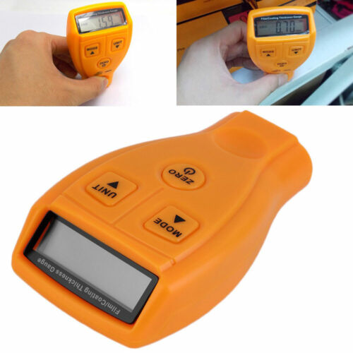 JW/_ Digital LCD Automotive Car Coating Paint Thickness Gauge Meter 0-1.8mm NEW