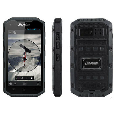 """Energizer Energy 400 4.0"""" Waterproof 8MP Android Smartphone Mobile Phone"""