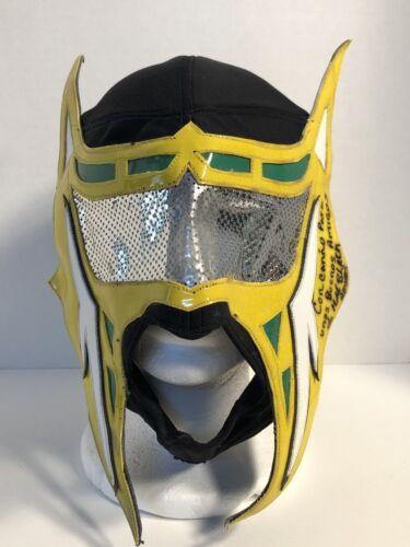 Abismo Negro-Original Professional Wrestling Mask[