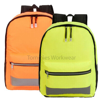 SH8001 Shugon Hi Viz Rucksack Vis Backpack High Visibility Bag Cycling