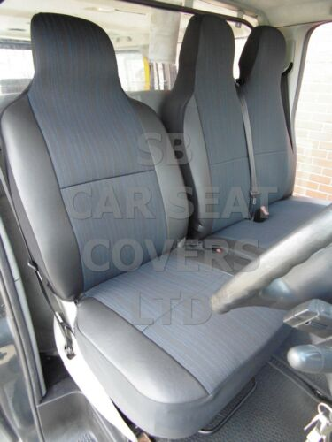 INDUS GREY SEAT COVERS 2009 TO FIT A NISSAN INTERSTAR VAN