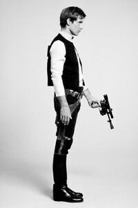 Star-Wars-Han-Solo-20x30-Luster-Paper-Print-Harrison-Ford-Film-Photo-Poster