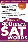 McGraw-Hill's 400 Essential SAT Words by Denise Pivarnik-Nova (Paperback, 2004)