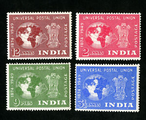 India-Stamps-223-6-VF-OG-LH-Catalog-Value-35-50