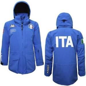Kappa-Jacke-6-Cento-611a-erfolgten-Wintersport-National-Italien-Team-Mann