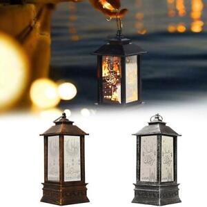 Ramadan Lantern Lamp Eid Mubarak LED Light Muslim Ornament V x1 Deco Party B7T0