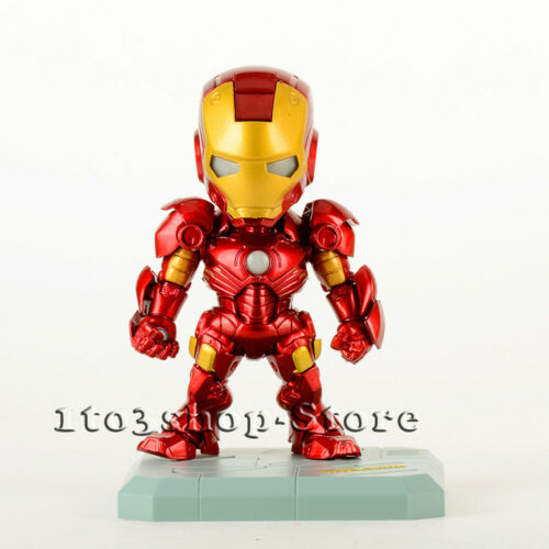 Iron Man Mark 3 Ironman MK III Toy Action Figure w//Sound Control LED Light BOX