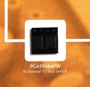 2PCs PCA9548APW PCA9548 8-channel I2C-bus switch with reset