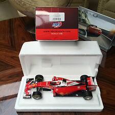 New 1/18 BBR Ferrari  F1 Diecast race car model SF16-H GP Australia Kimi Raikon