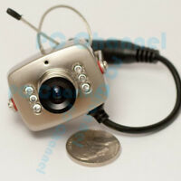 Mini Wireless Security Nanny Camera Hidden Pinhole Spy Cam Night Vision