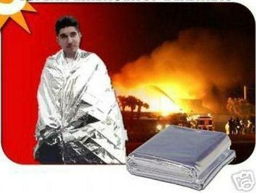 Emergency Mylar Blanket Solar Survival CASE OF 144