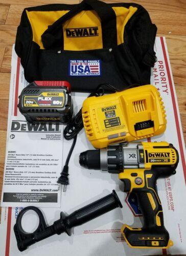 DCD996P1 DEWALT DCD996B FLEXVOLT  20//60 VOLTS HAMMER DRILL KIT