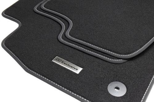 2006-2011 Tapis de sol en acier inoxydable Logo pour audi a6 4 F c6 Avant Kombi S-Line BJ