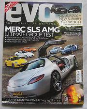 EVO 08/2010 featuring AMG, Ferrari, Aston Martin, Bristol, Porsche, Audi, Ford