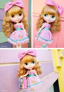 2014 Blythe Junie Moonie Cutie Poupée!!! Vendeur Britannique!!!-afficher Le Titre D'origine