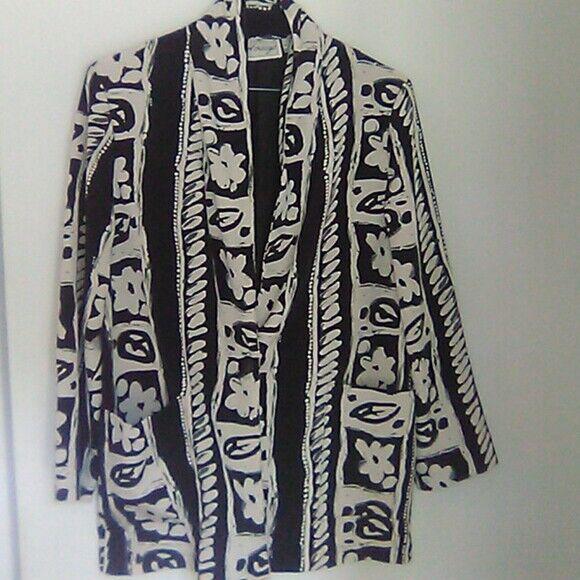 Entourage women's light blazer jacket shirt jacke… - image 11