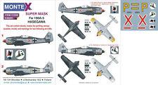 Montex 1/48 masks, decals & markings Hasegawa's Fw 190A-5 - K48281