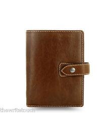 Filofax Pocket Size Malden Organizer Ochre Leather 025842